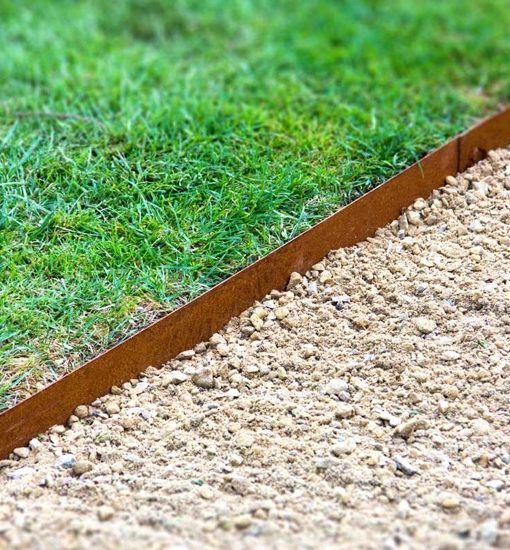 Corten Steel Straight Garden Edging By Adezz