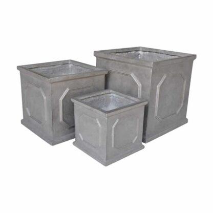 Clayfibre Chelsea Cube Planter