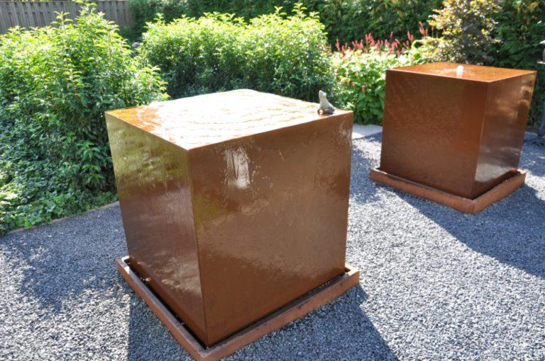 Corten Steel Water Block by Adezz
