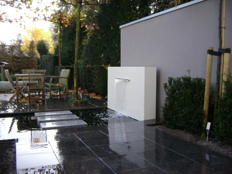 Aluminium Pond Backplate by Adezz alt 1