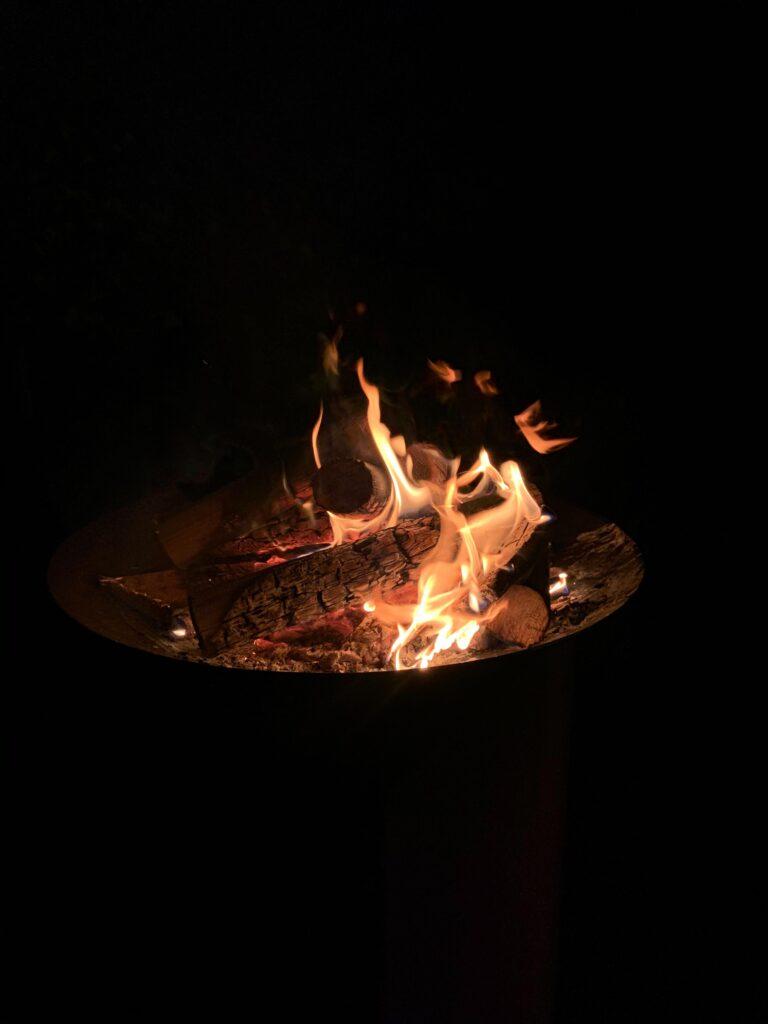 Corten Steel Fire Pit Lifestyle1