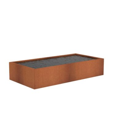 Corten Steel Ponds by Adezz 300x150x60cm
