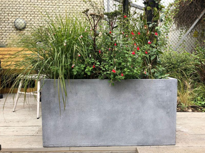 Fibrestone Planter Project