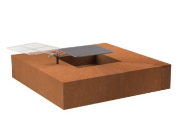 Fire Table Square by Adezz