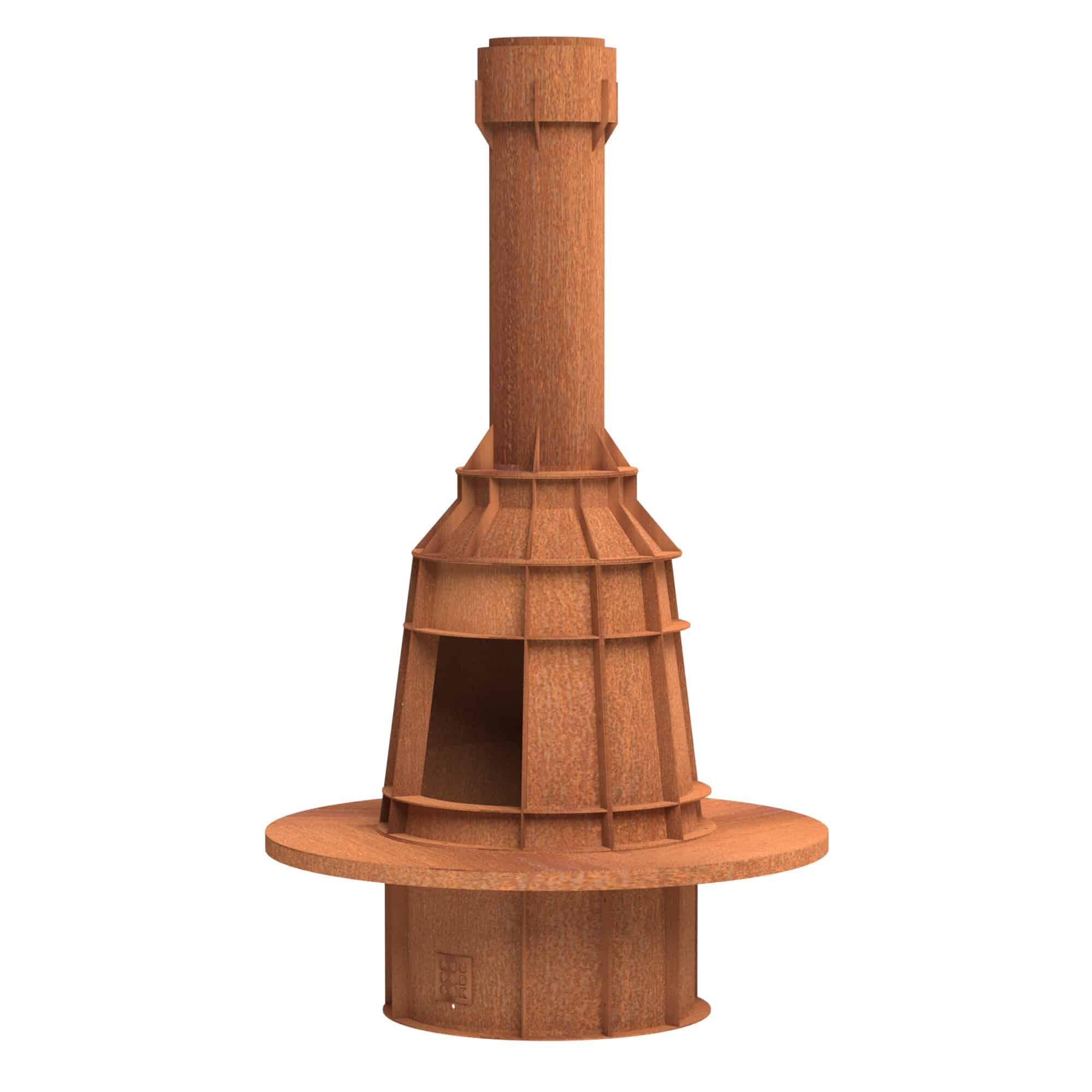 Form Log Burner by Adezz 123x220cm