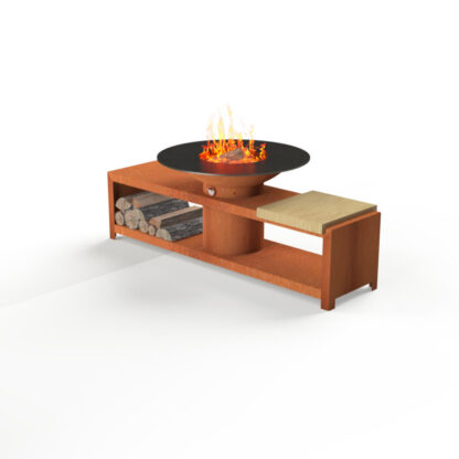 Forno Circular Grill with Storage by Adezz