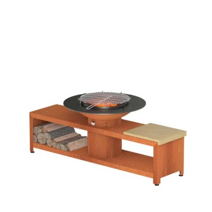 Forno Grill with Storage by Adezz 200x98x76cm