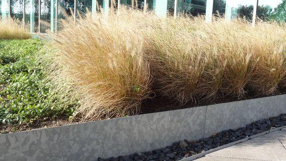 Galvanised Steel Straight Garden Edging by Adezz alt 1