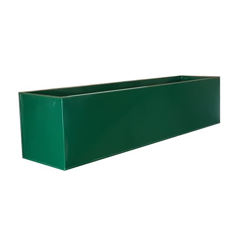 Green Zinc Powder Coat Window Box 70x16x16cm