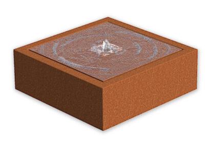 Corten Steel Water Table by Adezz