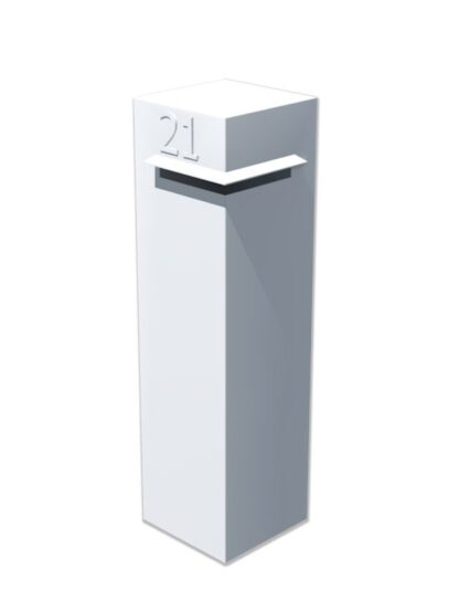 Aluminium Letter Box by Adezz