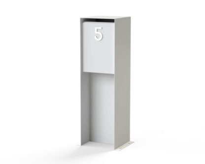 Aluminium Letter Box by Adezz alt 2