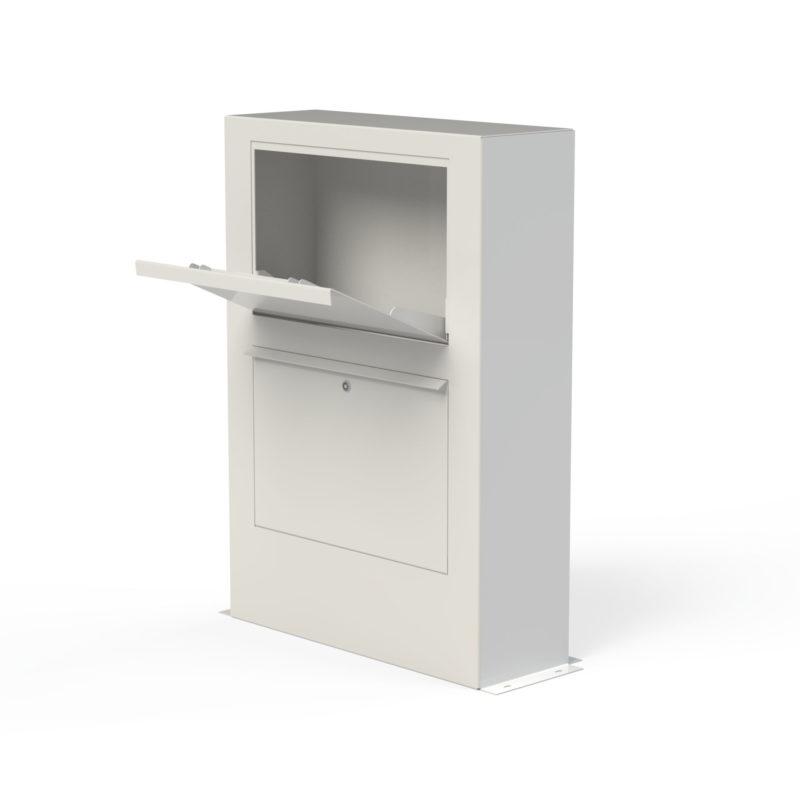 Aluminium Letter Box by Adezz alt 4