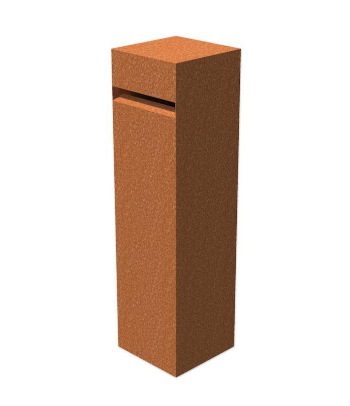 Corten Steel Letter Box