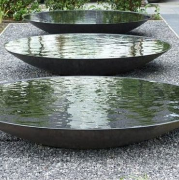 Steel Water Bowl by Adezz Alt 2