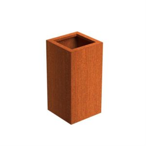 Andes Tower Adezz Corten Steel Planters 40x40x80cm