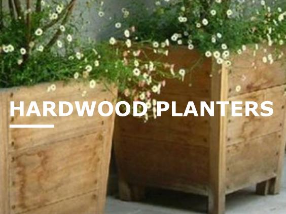 Hardwood Planters