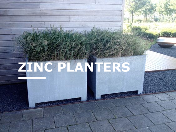 Zinc Planters