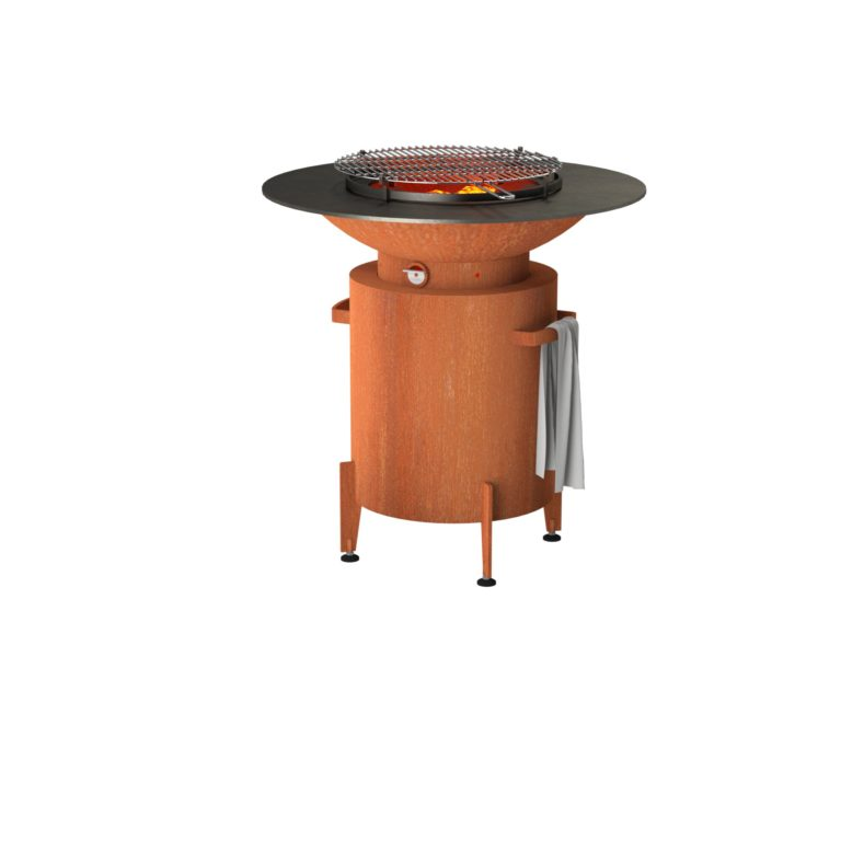 Forno Circular Grill by Adezz With Feet 100x100cm