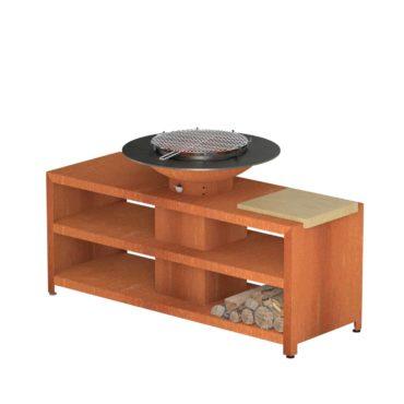 Forno Grill with Storage by Adezz 200x98x105cm