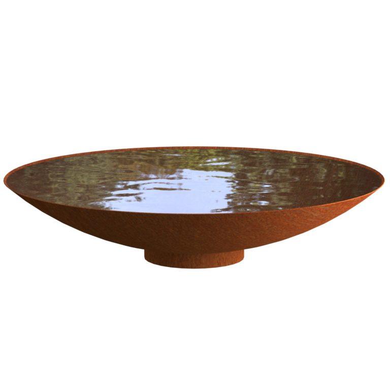 Corten Steel Water Bowls by Adezz 150x33cm