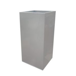 Silver Zinc Tower Planters