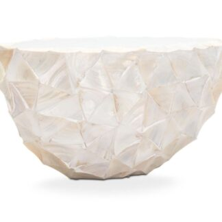 Shell Oval Planters White 60x26x30cm squared image