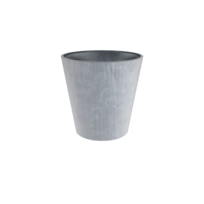 Galvanised Steel Round Vaza Planters By Adezz