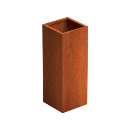 Corten Steel Tower Planters by Senzzo
