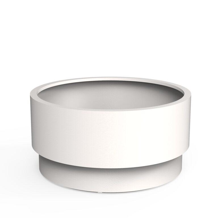 Aluminium Extend Planters White (RAL 9016) by dipott 120x60cm
