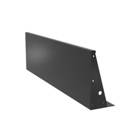Aluminium Straight Retaining Wall by Adezz 200x60cm