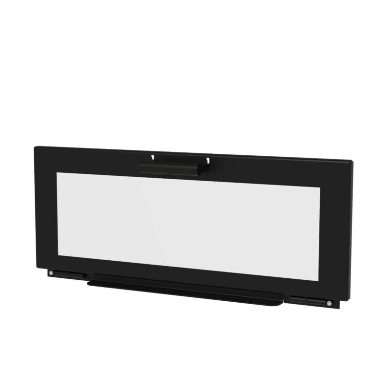 Black Heat Resistant Enok Door by Adezz 100x50x50cm