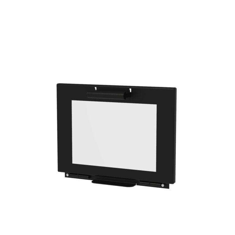 Black Heat Resistant Stig Log Burner Door by Adezz50x50x100cm