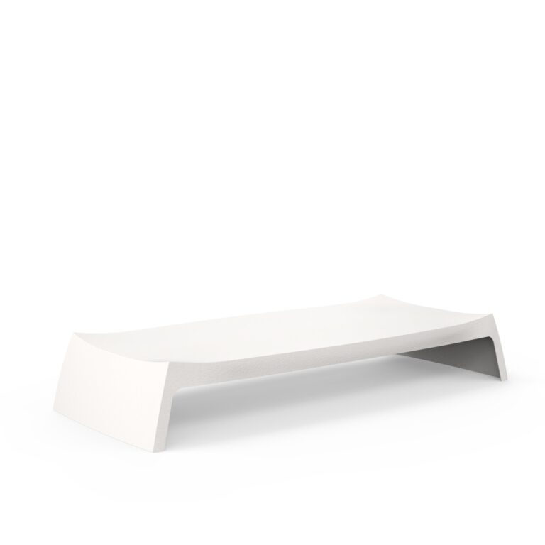 Original Series Low Table White (RAL 9016) by One To Sit 165x70x28cm