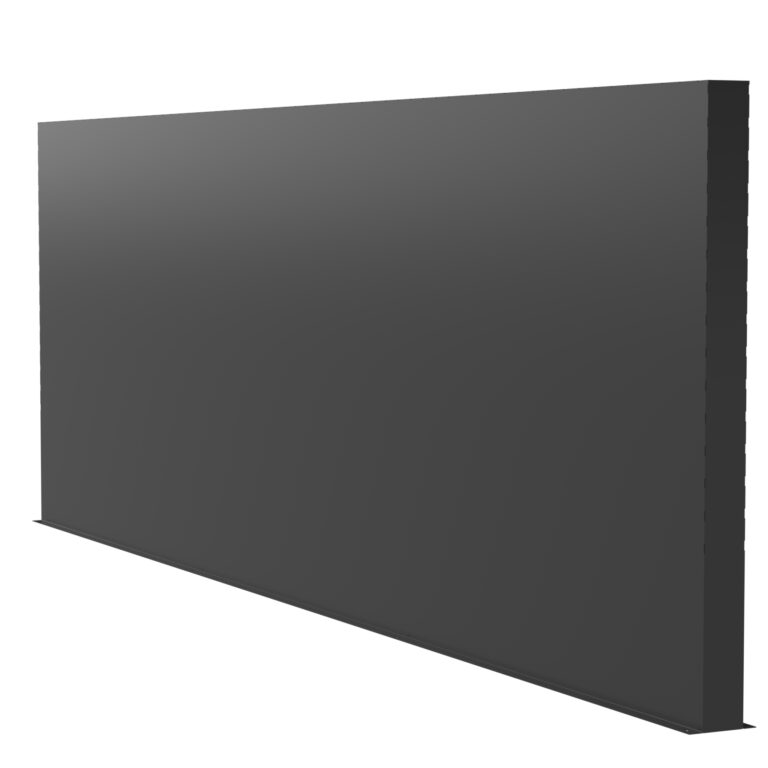 Aluminium Garden Wall Screen by Adezz 400x15x200cm