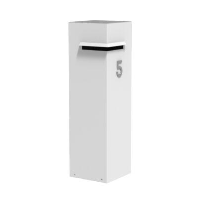 Aluminium Ivan Letter Box by Adezz 35x35x120cm