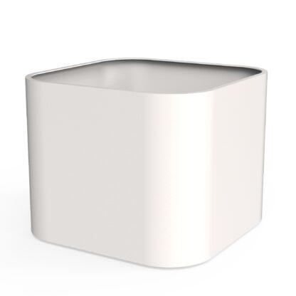Aluminium Tonic Planter by dipott 110x110x80cm