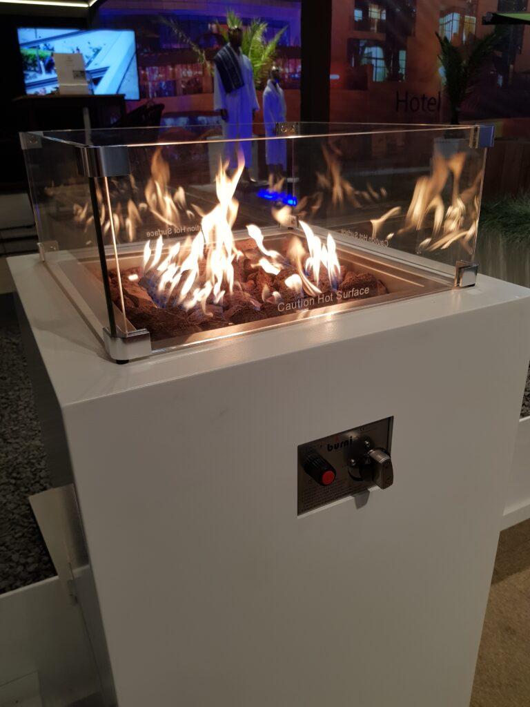 BRANN Aluminium Gas Fire Pit by Adezz Lifestyle1