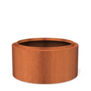 Corten Steel Topic Planter by dipott 120x60cm