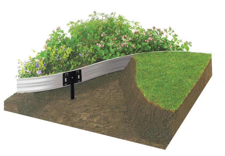 Edgeline Garden Edging Fixing View