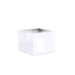 Fibreglass Glossy Buxus Planter by Adezz 100x100x80cm