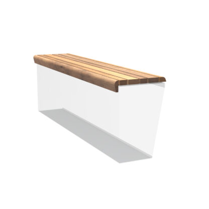 Retaining Wall Seat with Lip by Adezz 199x50cm