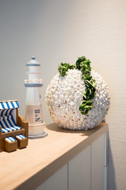 Beach Spherical Planter 30x30cm Lifestyle1
