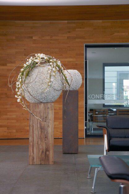 Beach Spherical Planter 70x60cm Lifestyle2