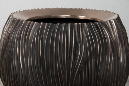 River Bowl Planter Bronze 120x90cm Lifestyle1