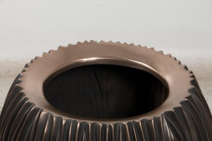 River Bowl Planter Bronze 80x60cm Lifestyle1