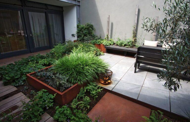 Corten Steel Square Vegetable Planter by Adezz Lifestyle1