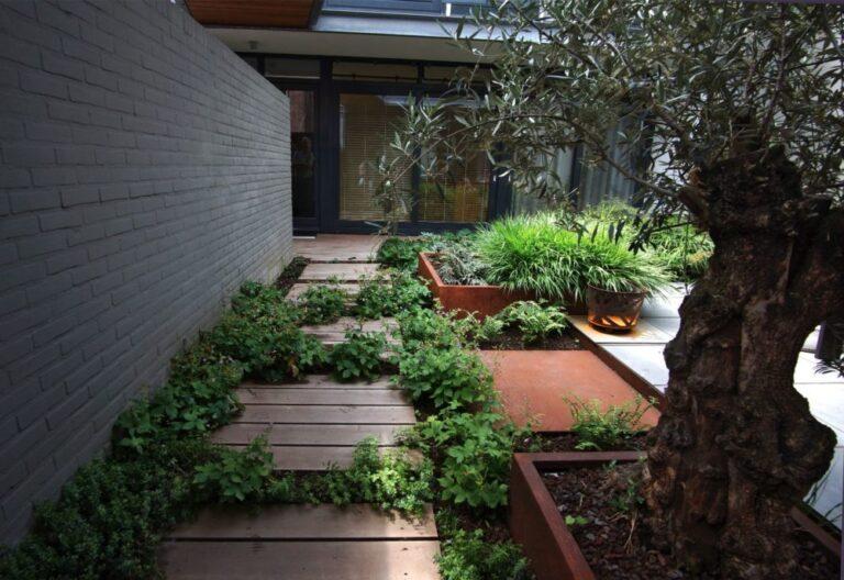 Corten Steel Square Vegetable Planter by Adezz Lifestyle2