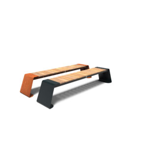 Dunc Benches by Furns 230x45x45cm