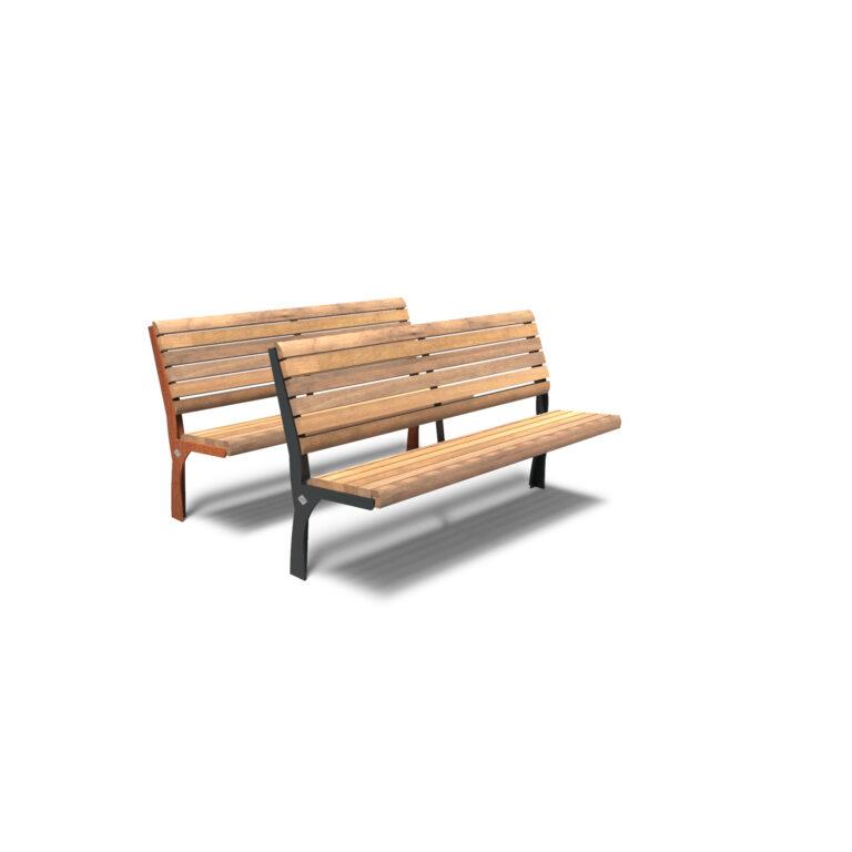 Gro Bench by Furns 150x57x111cm